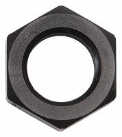 Russell Performance Products - Russell Bulkhead Nut #6 Black - Image 1
