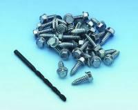 Mr. Gasket - Mr. Gasket Tire Screw Kit - Includes 35 Hex Head Screws / Drill Bit - Image 3