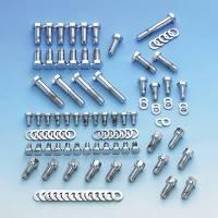 Mr. Gasket - Mr. Gasket Complete Engine Bolt Kit - Chrome Plated Hex Head - Image 3