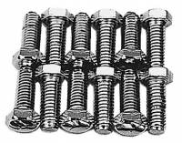 Hardware and Fasteners - Trans-Dapt Performance - Trans-Dapt Intake Manifold Bolt Set - 3/8-16 x 1""