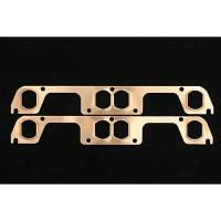 SCE Gaskets - SCE SB Chevy Copper Exhaust Gaskets for HKR Adapter Plate - Image 2
