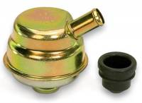 Oil System - Crankcase Evacuation Systems - Moroso Performance Products - Moroso Gold Oil Separator/Breather