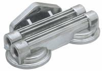 Trans-Dapt Performance - Trans-Dapt Remote Oil Filter Bracket - Dual - Image 1