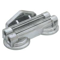 Trans-Dapt Performance - Trans-Dapt Remote Oil Filter Bracket - Dual - Image 2