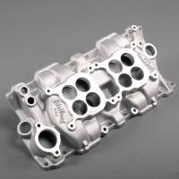 Edelbrock - Edelbrock C-26 Dual-Quad Intake Manifold - Cast Finish - Image 3