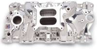 Chevrolet C10 Air and Fuel - Chevrolet C10 Intake Manifolds - Edelbrock - Edelbrock Performer EPS Intake Manifold - Endurashine