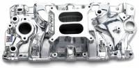 Intake Manifolds - SB Chevy - Edelbrock Intake Manifolds - SBC - Edelbrock - Edelbrock Performer EPS Intake Manifold - Polished Finish