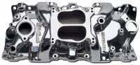 Chevrolet C10 Air and Fuel - Chevrolet C10 Intake Manifolds - Edelbrock - Edelbrock Performer Series Intake Manifold - Polished