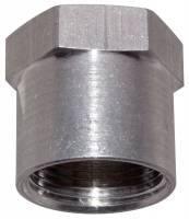 "Aluminum Weld-In Fittings - Female NPT Aluminum Weld-In Fittings - Moroso Performance Products - Moroso 1""NPT Female Weld-On Bung"