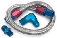 "Edelbrock - Edelbrock Fuel Line Kit - Braided - 22"" - Image 2"