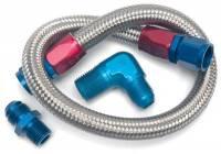 "Edelbrock - Edelbrock Fuel Line Kit - Braided - 22"" - Image 3"