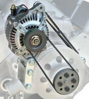 Powermaster Motorsports - Powermaster High Mount Racing Alternator Kit - High Mount - Image 2