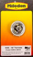 Cooling & Heating - Thermostats - Milodon - Milodon 160 Thermostat - Chrysler