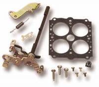 Carburetor Service Parts - Throttle Plate & Linkage - Holley Performance Products - Holley Carburetor Throttle Shaft Service Kit - w/ Ford A/T Kickdown Lever