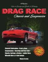 Books, Video & Software - Chassis & Suspension Books - HP Books - How To Design A Drag Race Chassis