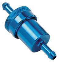 Russell Performance Products - Russell 3/8 Aluminum Fuel Filter Blue - Image 2