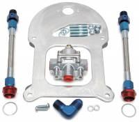 Fuel Pump Parts & Accessories - Fuel Pressure Regulators - Edelbrock - Edelbrock Fuel Pressure Regulator Kit - Single Regulator
