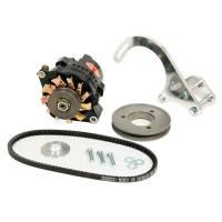 Powermaster Motorsports - Powermaster Pro Series Alternator Kit - Low Mount - Either Side - Image 3