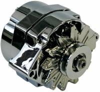 Ignition & Electrical System - Proform Performance Parts - Proform Chrome 1-Wire Alternator - GM