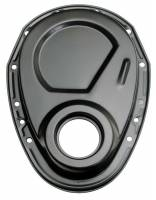 Engine Components - Trans-Dapt Performance - Trans-Dapt BB Chevy Black Timing Cover
