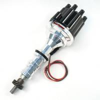 Ignition & Electrical System - PerTronix Performance Products - PerTronix BB Ford FE Billet Distributor w/ Black Cap
