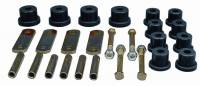 Street Performance USA - Prothane Motion Control - Prothane Leaf Spring Eye / Shackle Bushing Kit - Black