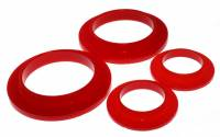 Spring Accessories - Coil Spring Isolators - Energy Suspension - Energy Suspension Coil Spring Isolator Set - Red