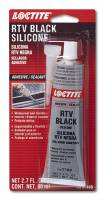 Sealers, Gasket Makers and Adhesives - RTV, Silicone Sealers & Gasket Makers - Loctite - Loctite RTV Black Silicone Adhesive 80ml/2.7oz