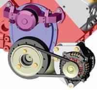 Powermaster Motorsports - Powermaster Chrome Low Mount Bracket - SB Chevy - Image 2
