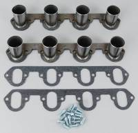Header Parts & Accessories - Header Flanges - Hedman Hedders - Hedman Hedders Hedder Flange Kit w/ Stubs - BB Ford