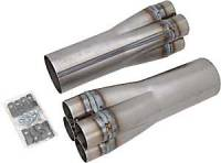 "Header Components and Accessories - Collectors - Hedman Hedders - Hedman Hedders Slip-On Collectors 2-1/8"" x 3-1/2"" (Pair)"