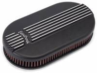 Edelbrock - Edelbrock Classic Series Air Cleaner - Black Powder Coated - Image 1