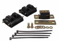 Transmission Accessories - Transmission Mounts - Energy Suspension - Energy Suspension Motor and Transmission Mount Kit - Black