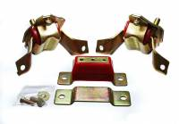 Drivetrain - Energy Suspension - Energy Suspension Motor and Transmission Mount Kit - Red
