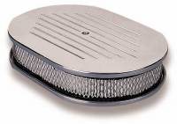 """Holley Performance Products - Holley Custom Oval Air Cleaner - 5-1/8"""" Neck - Image 1"""