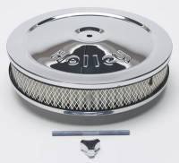 """Holley Performance Products - Holley Chrome Round Air Cleaner - 10"""" - Image 3"""