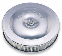 """Moroso Performance Products - Moroso Street / Strip Air Cleaner - 11-1/2"""" diameter with 2-3/8"""" filter - Chrome - Image 1"""