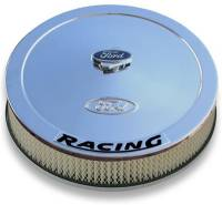 "Proform Performance Parts - Proform Air Cleaner - Ford Racing Emblem - 13"" Diameter - Image 3"