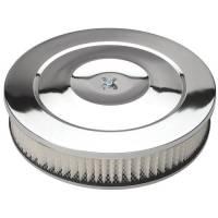 "Trans-Dapt Performance - Trans-Dapt Chrome Air Cleaner Performance Style 14"" Diameter - Image 2"