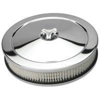 "Trans-Dapt Performance - Trans-Dapt Chrome Air Cleaner - Muscle Car Style - 10"" Diameter - Image 2"