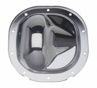 "Ford F-150 Drivetrain - Ford F-150 Differential Covers - Trans-Dapt Performance - Trans-Dapt Differential Cover Kit - Chrome - Ford 8.8"" Ring Gear"