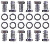Rear End Parts & Accessories - Rear End Bolts, Nuts, Washers - Trans-Dapt Performance - Trans-Dapt Differential Cover Bolts - Chrome