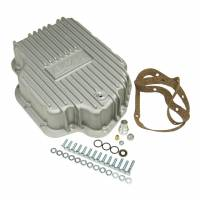 Transmission Accessories - Transmission Pans - B&M - B&M Transmission Cast Deep Pan, Brushed Finish - GM TH400 Transmission