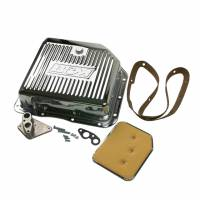Transmission Accessories - Transmission Pans - B&M - B&M Chrome Deep Transmission Pan For GM TH 350 and TH 250 Transmissions