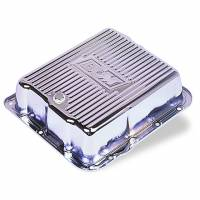 Transmission Accessories - Transmission Pans - B&M - B&M Chrome Transmission Deep Pan GM TH700R4 4L60  1982 to 1993