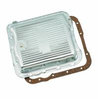 Chevrolet 2500/3500 Drivetrain - Chevrolet 2500/3500 Automatic Transmissions and Components - Mr. Gasket - Mr. Gasket Transmission Oil Pan - GM TH700R4 - Chrome