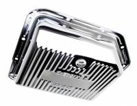 Drivetrain - Trans-Dapt Performance - Trans-Dapt Chrome Transmission Pan - TH-350 Finned Bottom
