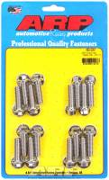 Engine Bolts & Fasteners - Intake Manifold Bolts - ARP - ARP BB Chevy Stainless Steel Intake Bolt Kit - 6 Point