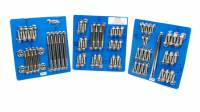 Engine Bolts & Fasteners - Engine Fastener Kits - ARP - ARP GM LS Stainless Steel Complete Engine Fastener Kit - 6 Point