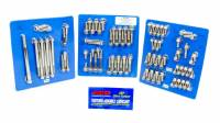 Engine Bolts & Fasteners - Engine Fastener Kits - ARP - ARP BB Ford Stainless Steel Complete Engine Fastener Kit - 12 Point